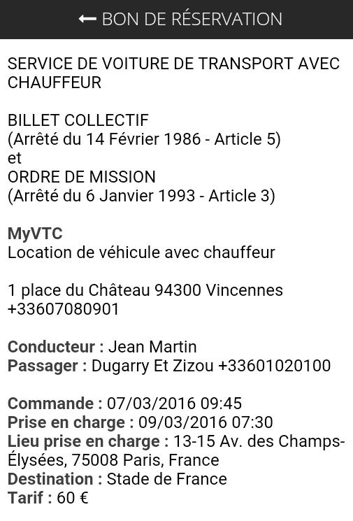 Bonvtc Fr Modele De Bon De Reservation Vtc Capacitaire Loti